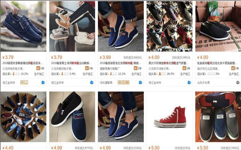 Giày trên Taobao được bán với giá khá rẻ nhưng vẫn đảm bảo chất lượng